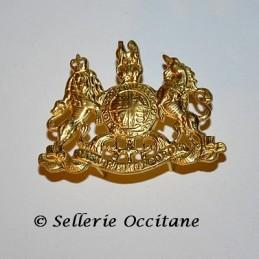 Insigne de casque Britannique d'officier du génie 1879