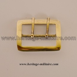 Buckle double barbs for banner pouch