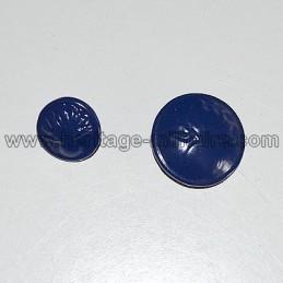 "Bouton ""Grenade"" bleu 14-18"