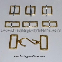 Complete sets of light cavalry belt, hussar or hunter