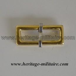 Boucle de réglage de ceinturon ou de bélières de sabre de cavalerie légère