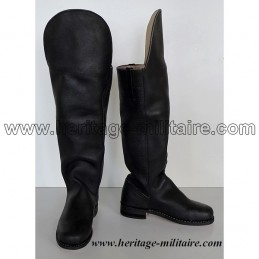 Cavalry boots model n°2 with round toe