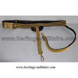 Parade officer belt