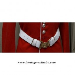 "White leather Belt of ""Grenadier Guards Troop"""