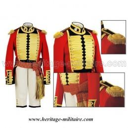 Uniform ceremony of Royal British child