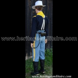 "Set uniform parade oF officer ""Shell Jacket Cavalry Roundabout 1854 - 1871"" Union."