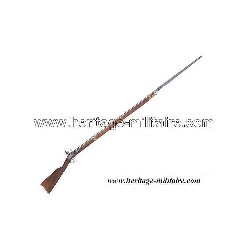 Infantry rifle with bayonet Napoleon 1st 1805 French Army