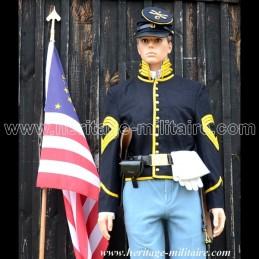 "Set uniforme de cavalier ""Shell Jacket Cavalery 1854 - 1871"" Union."