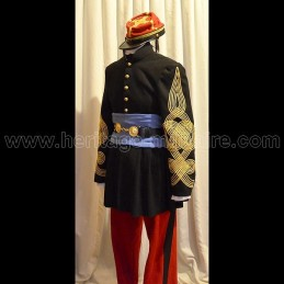 Complete uniform of Colonel of the Zouaves France 1850-1880