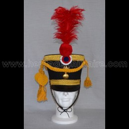Shako Officer Grenadier Guard 1812 - 1815