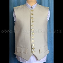 Civilian vest officer Maréchal Empire