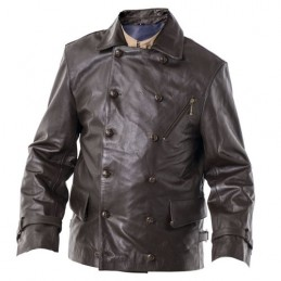 Germain leather great jacket pilot WWII