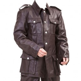 Germain leather Tunic M36 troop WWII