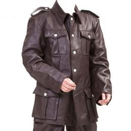 Tunique en cuir M36 troupe Allemand WWII