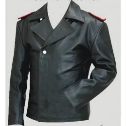 Veste en cuir d'équipage de char allemand WWII