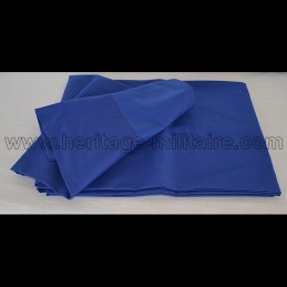 Blue hip scarf for zouave