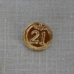 Button Infantry 21th Rgt