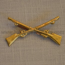 Metal badge of the Infantry Indian War 1872