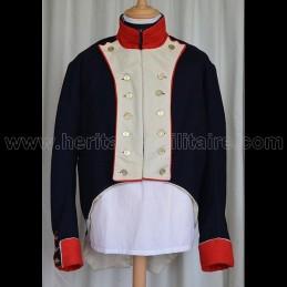 Habit veste infanterie 1808 Napoléon 1er