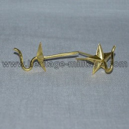 """Hook """"Star"""" support rackets cords for colback or Shako"""