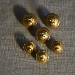 "Button ""Grenade"" 1940 WW2 France"