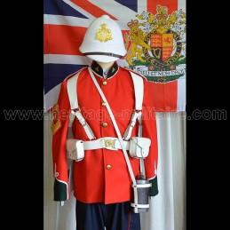 Set uniforme complet British Infantry 24th foot regt Zulu War