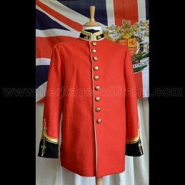 Tunique du Lieutenant Gonville Bromhead 24TH foot regiment