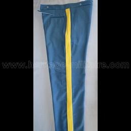 Pantalon bleu ciel foncé Guerres Indiennes 1874