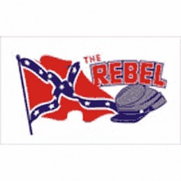 Flag confederate The Rebel