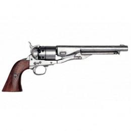 Revolver civil war Army 1860 gris