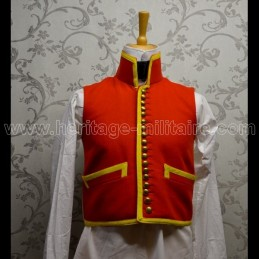 Civilian vest hussar Empire model 4