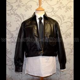 Germain leather jacket pilot fighter WWII mod 1