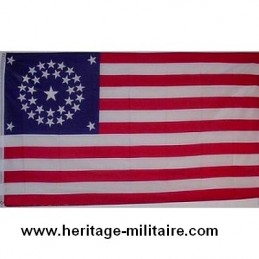 "Flag of the Union 31 Stars ""1851 - 1858"" COTTON"