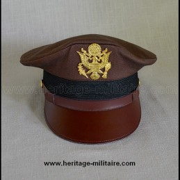 "USAAF ""Cap Crusher"" Pilot Officer Cap chocolate"