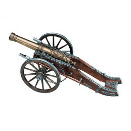 French cannon miniature Louis XIV  Denix