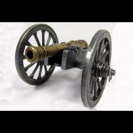 "Canon Français miniature Napoléon 1er ""Gribeauval"" Denix"