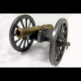"French cannon miniature Napoléon 1er ""Gribeauval"" Denix"