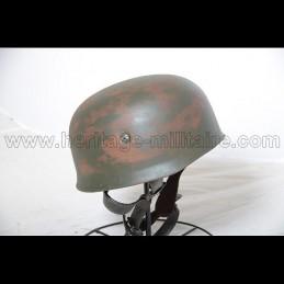 German paratrooper helmet aged appearance