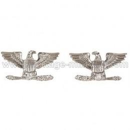 Insignes de grade de col officier COLONEL US WWII