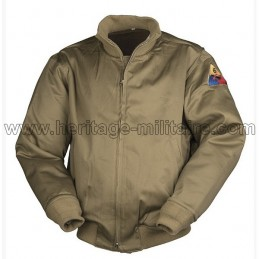 Tank Pilot Leather Jacket USA WWII