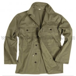 US HBT shirt USA WWII