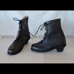 Lady bottines XIXe century