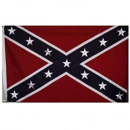 4e drapeau confédéré COTON
