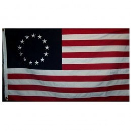 "Betsy Ross flag ""1777"" COTTON,"