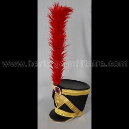 Shako Officier 4ème Hussard N1er