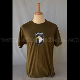 "T-Shirt ""101 St Airbone VA"" USA WWII"