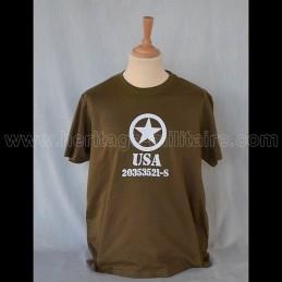 "T-Shirt ""Allied Star"" USA WWII"