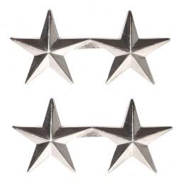 Insignes de grade de col officier GÉNÉRAL 2 ÉTOILES US WWII