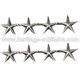 Rank Officer Badge GÉNÉRAL 4 STARS US WWII