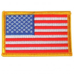 Patch US Flag leftt side color